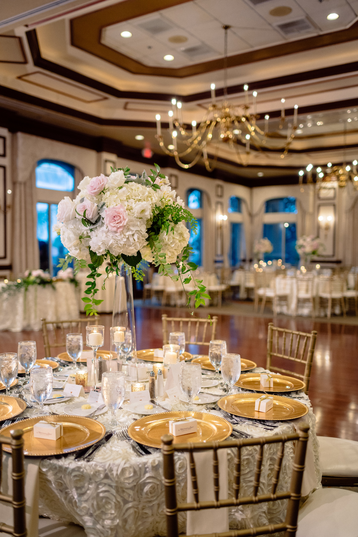 The Club at the Strand Wedding Reception Pink Blush White Cream Matt Steeves Photography Floral Symphony.jpg