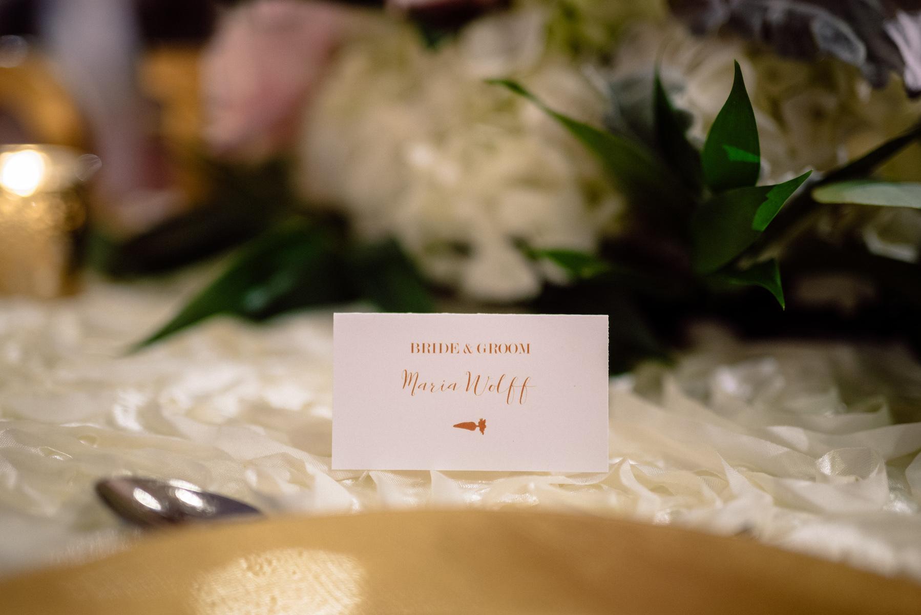 Escort Card White Gold Wedding Reception Naples Florida Matt Steeves.jpg
