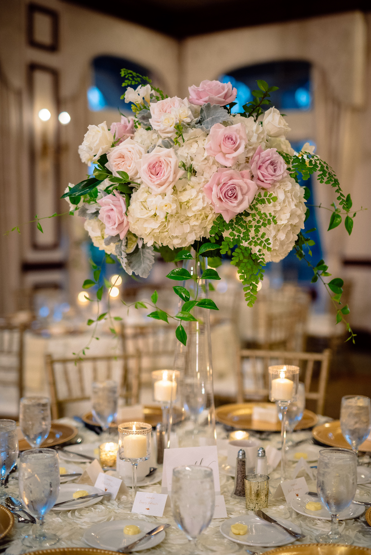 Floral Symphony Matt Steeves Photography Pink Roses Centerpiece.jpg