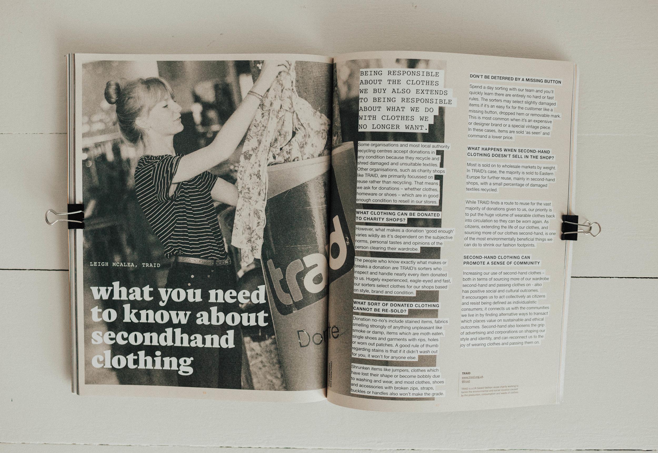 photo from Fashion Revolution Fanzine #2