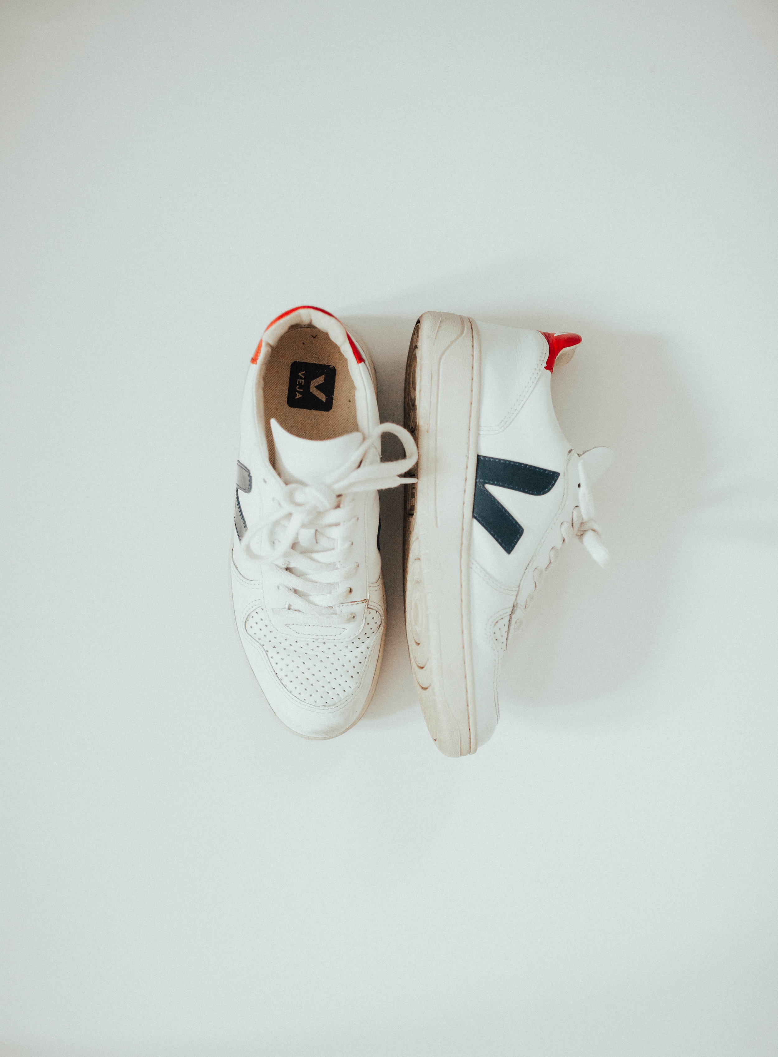 One of my first ethical style purchases of 2017 - the Veja V-10 Sneakers