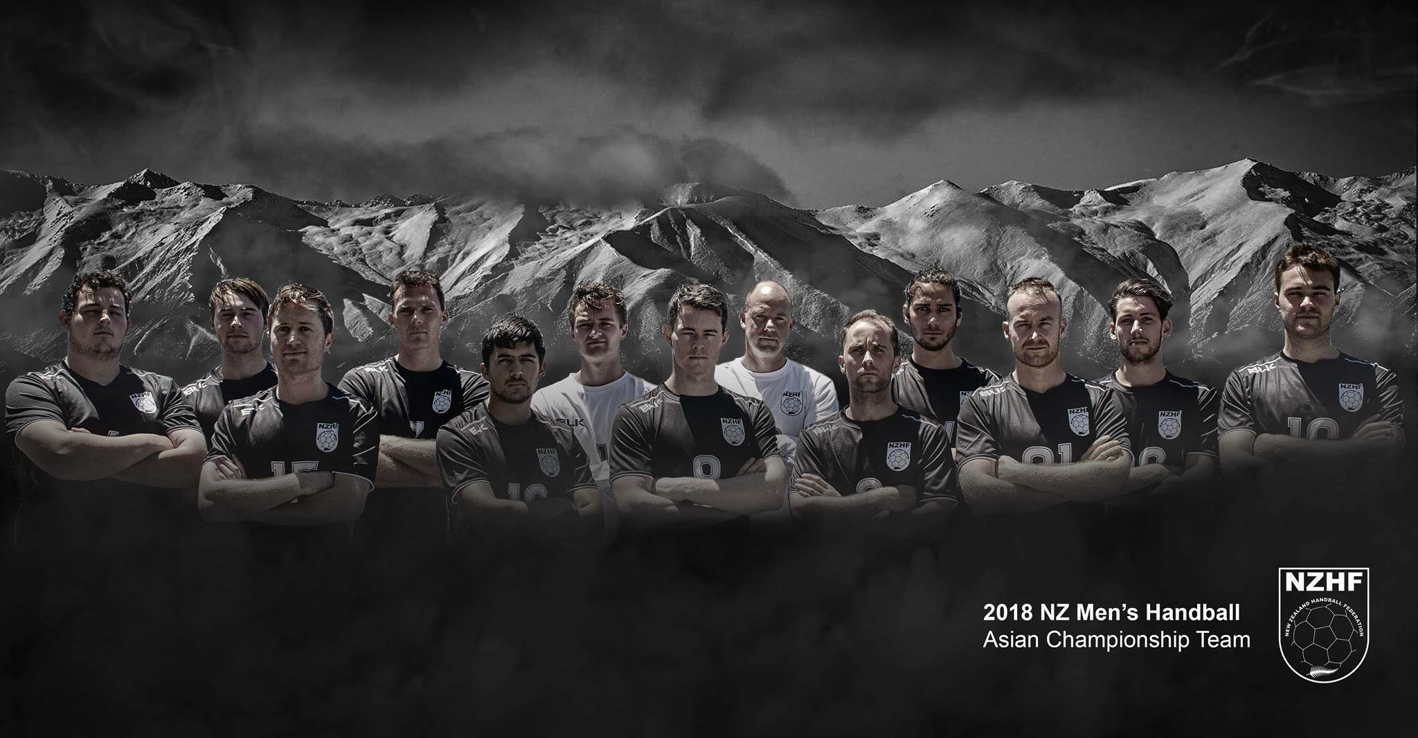 NZ MEN'S TEAM - 2018 ASIAN CHAMPS, January 2018, Korea
