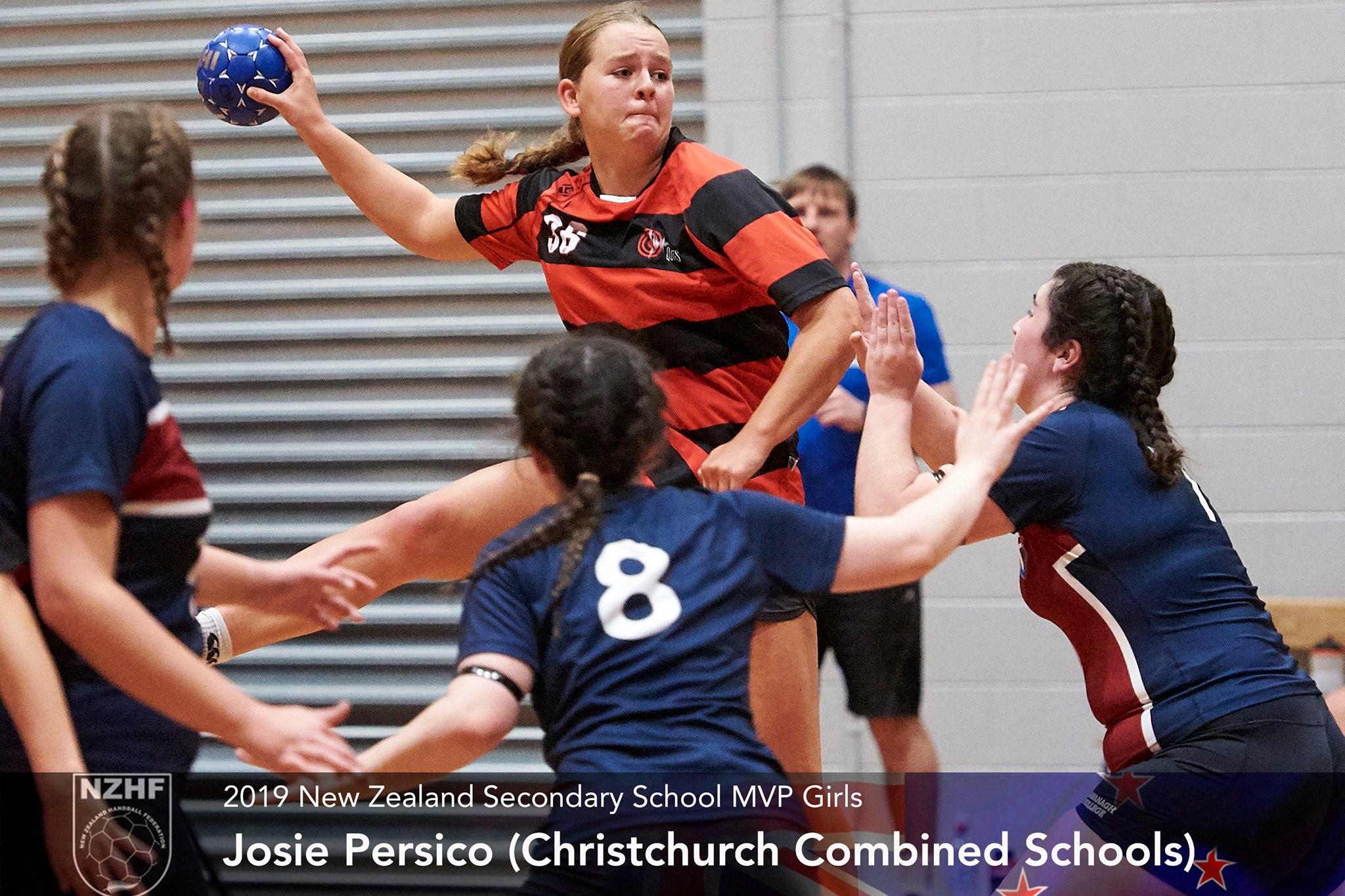 2019 Girls Top Goal Scorer Josie Persico Christchurch Combined Schools.jpg