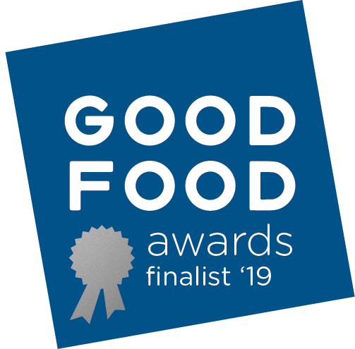 Coddle & Cosset is a proud member of the Good Food Guild, and honored to be a 2019 Finalist! - The Good Food Foundation exists to celebrate, connect, empower and leverage the passionate and engaged, yet often overlooked, players in the food system who are driving towards tasty, authentic and responsible food in order to humanize and reform our American food culture.