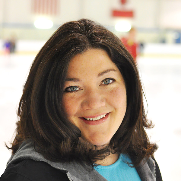 Kate (Clark) Blanchette, Director and Head Coach of the IceLiners Synchronized Skating Team