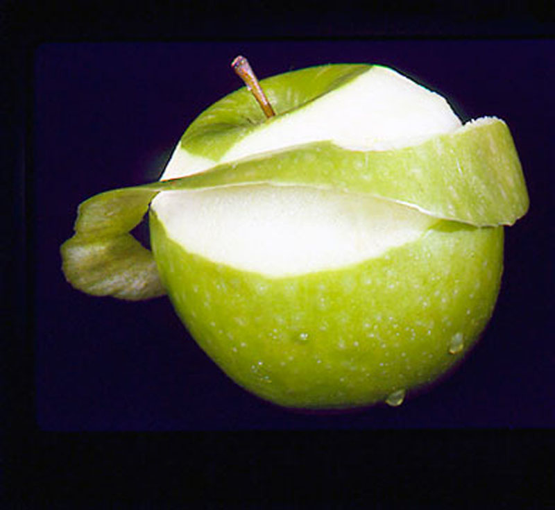 FOOD  green apple