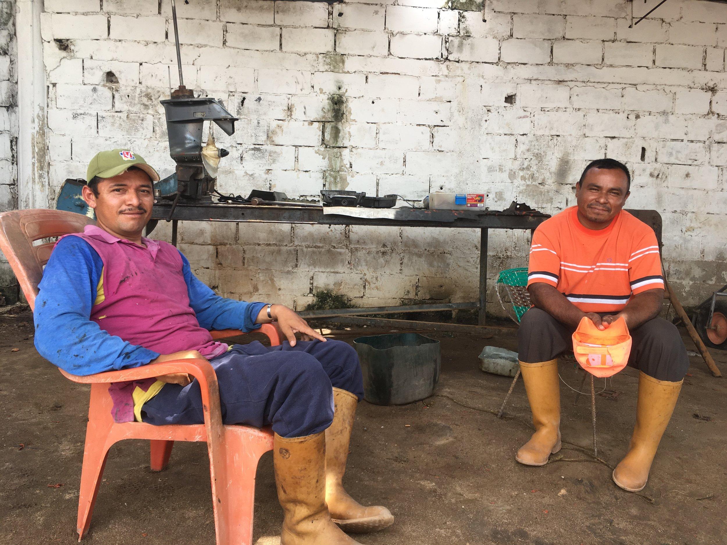 Barranquitas fishermen