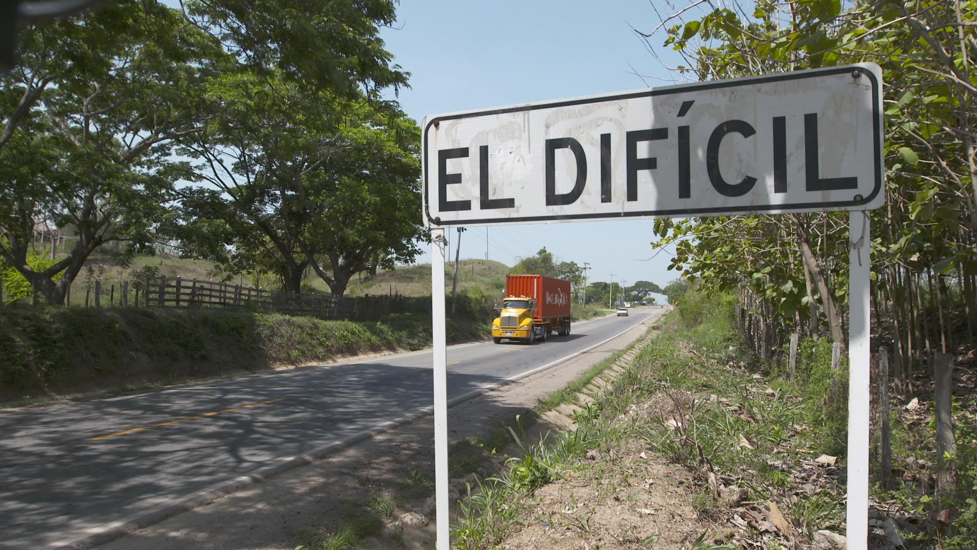 El Dificil, Magdalena, where Dilia lives