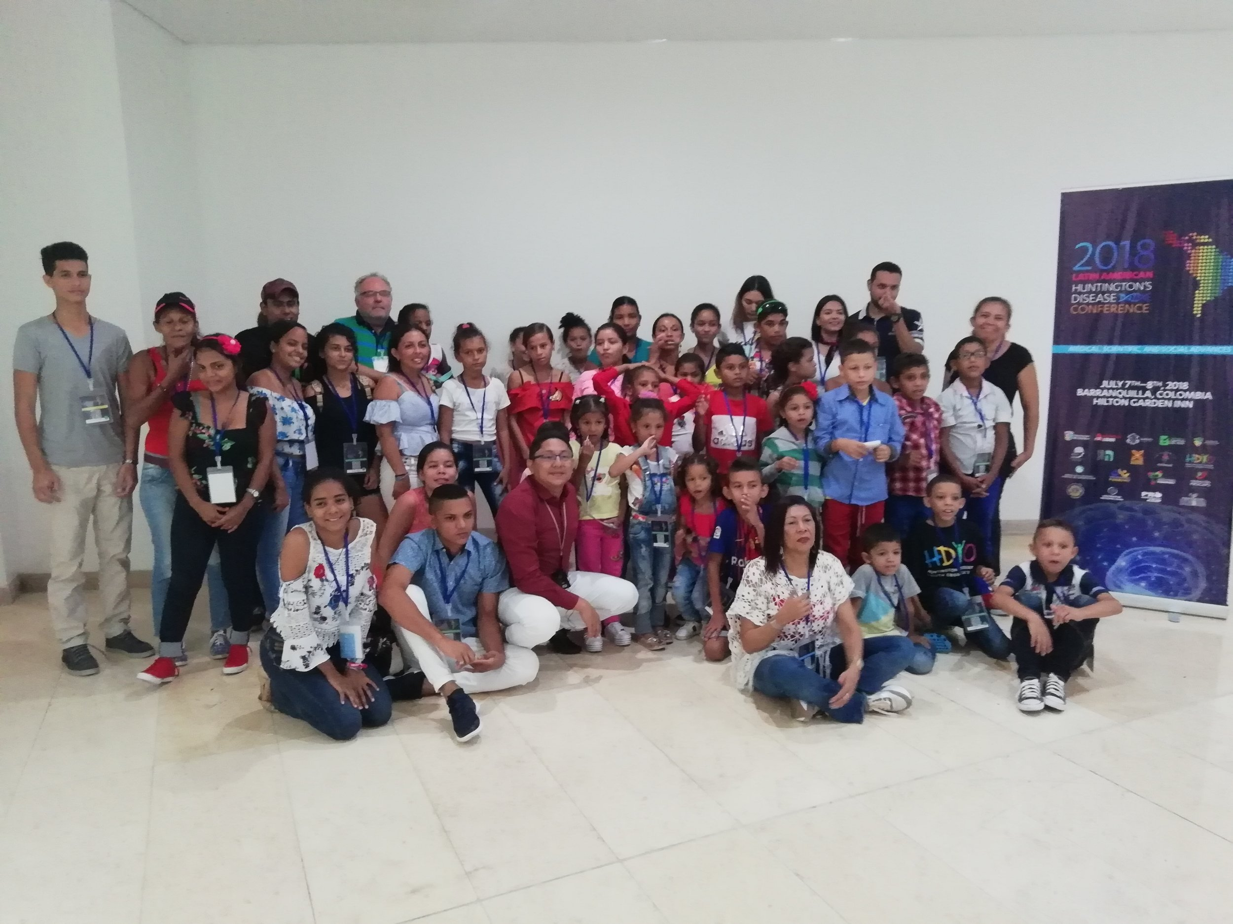 The kids from Project Abrazos