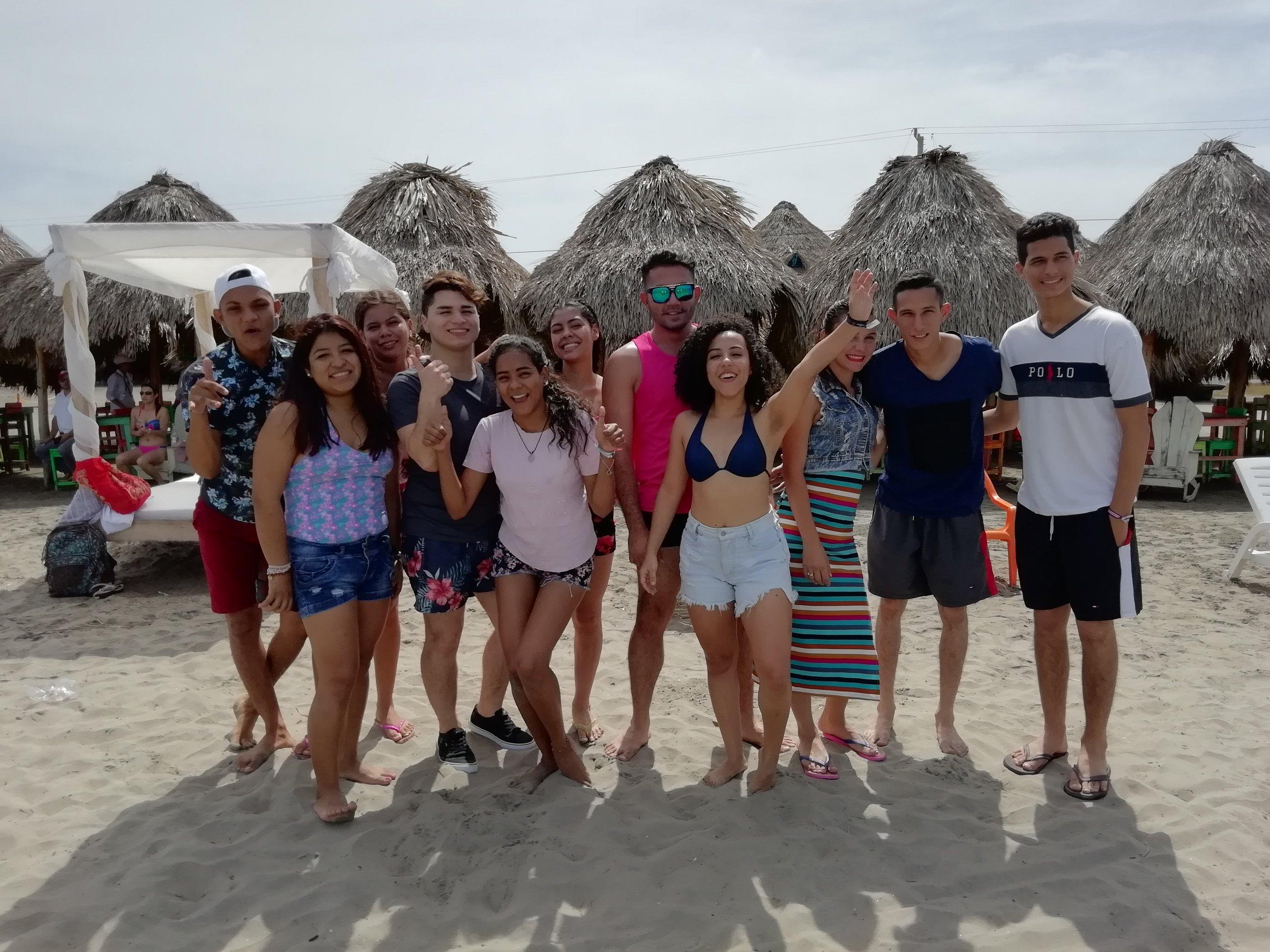 HDYO at risk youth at the beach
