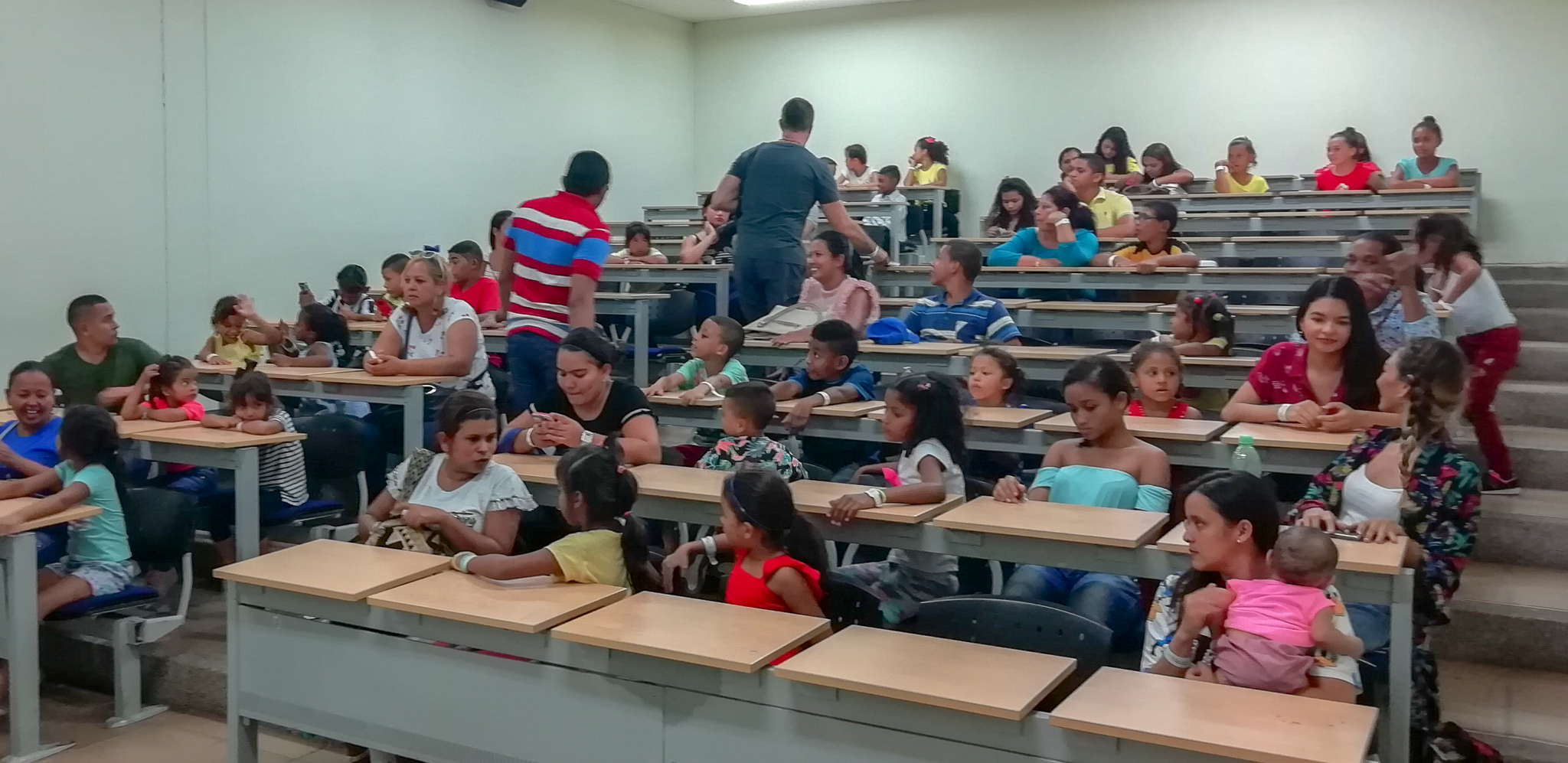 Visit to the local University in Santa Marta