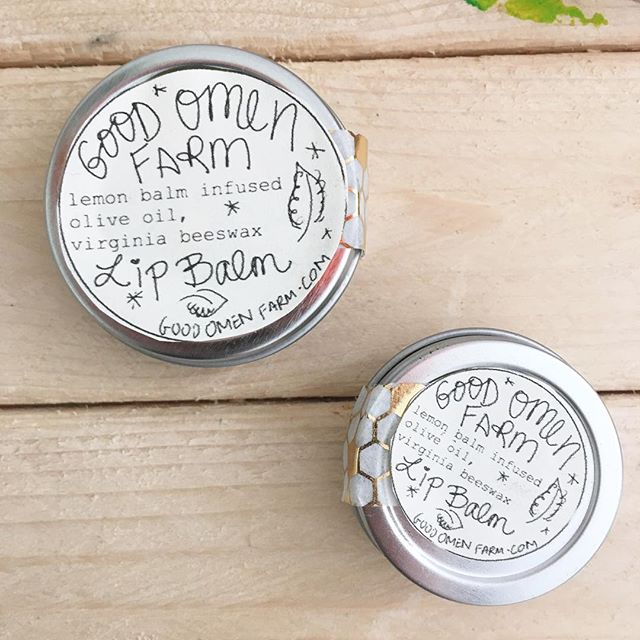 Little bitty lip balms available now in the shop! I FINALLY listed my farmers market inventory. Use code JN15MN for 15% off!
