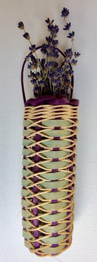 January 2018 weaving project. Photo provided by Sheila Tasker.
