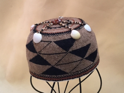 Twined Hat in the Yurok style