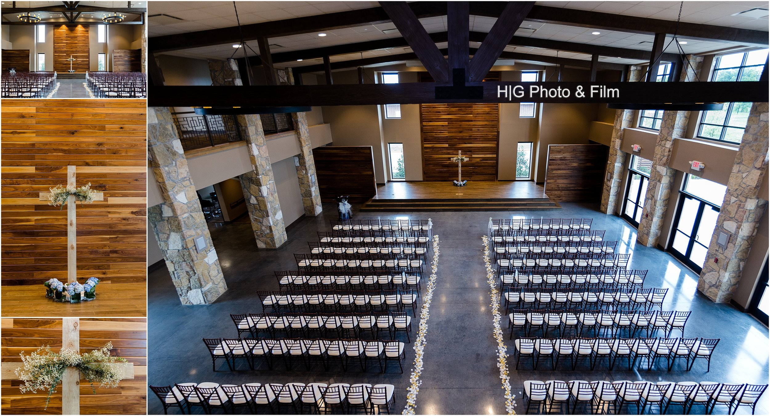 And look at this ceremony set up! Just breath taking