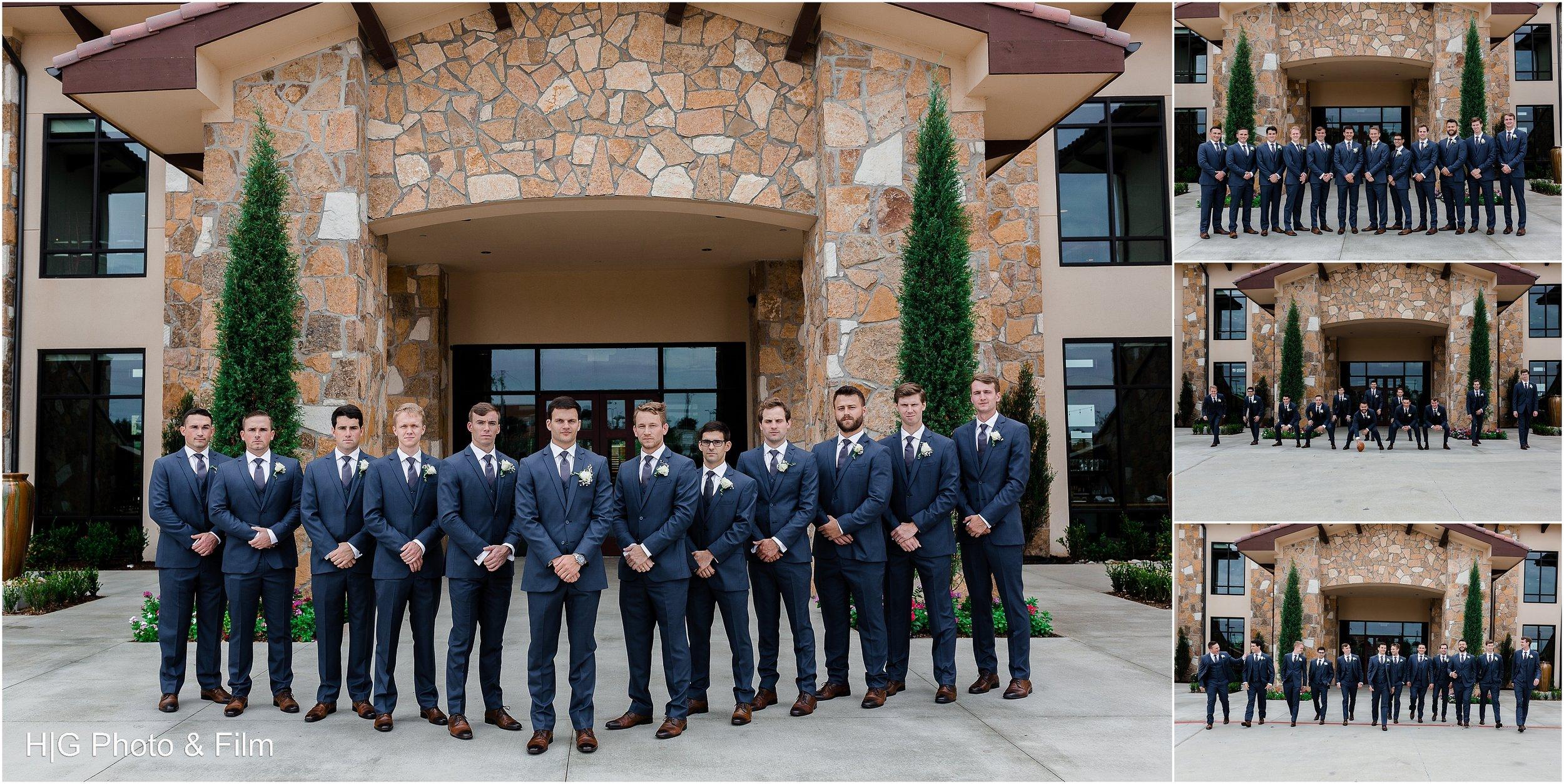 Guys looking sharp