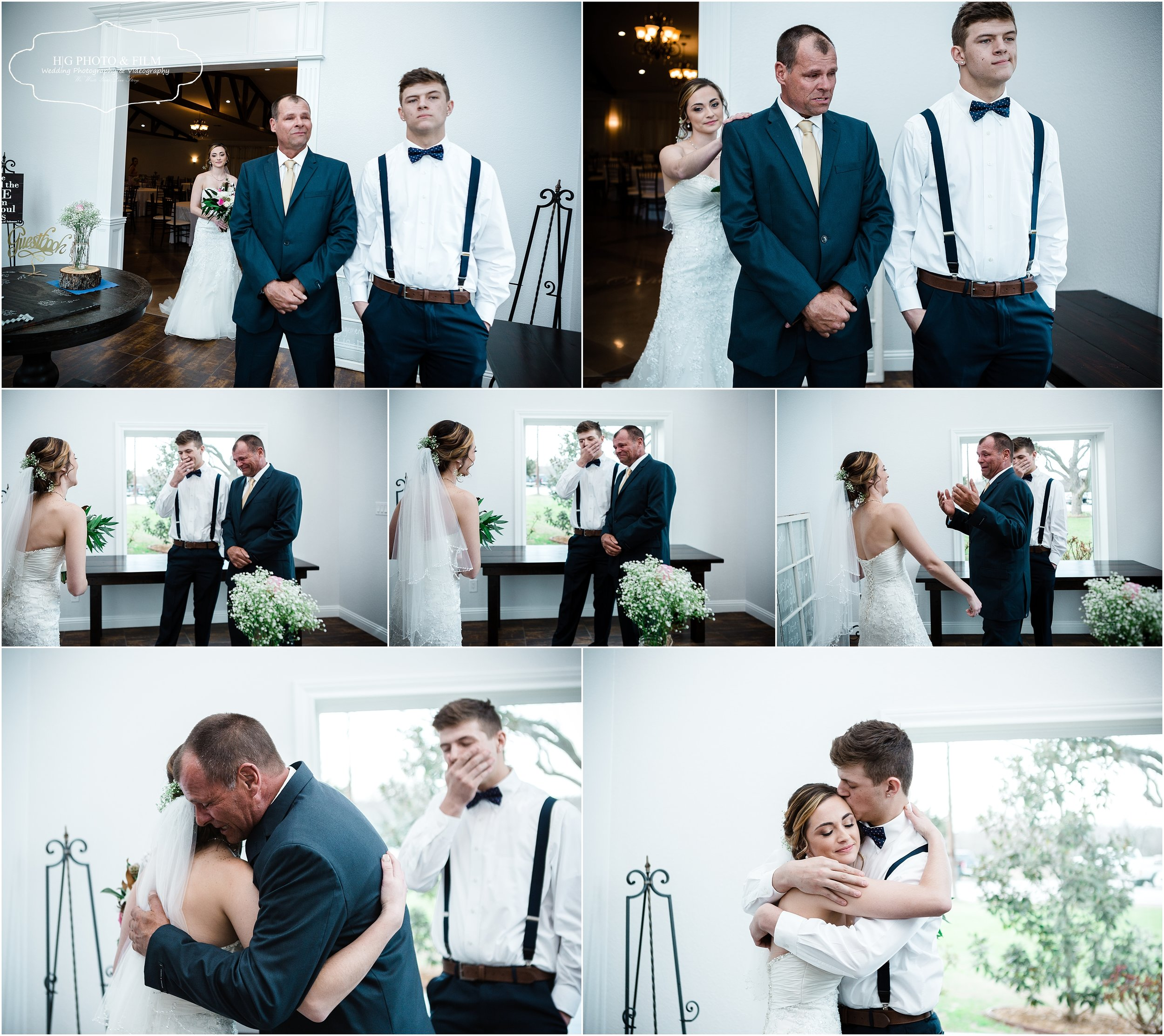 And then step father and brother. Such a special moment. Love capturing these moments!