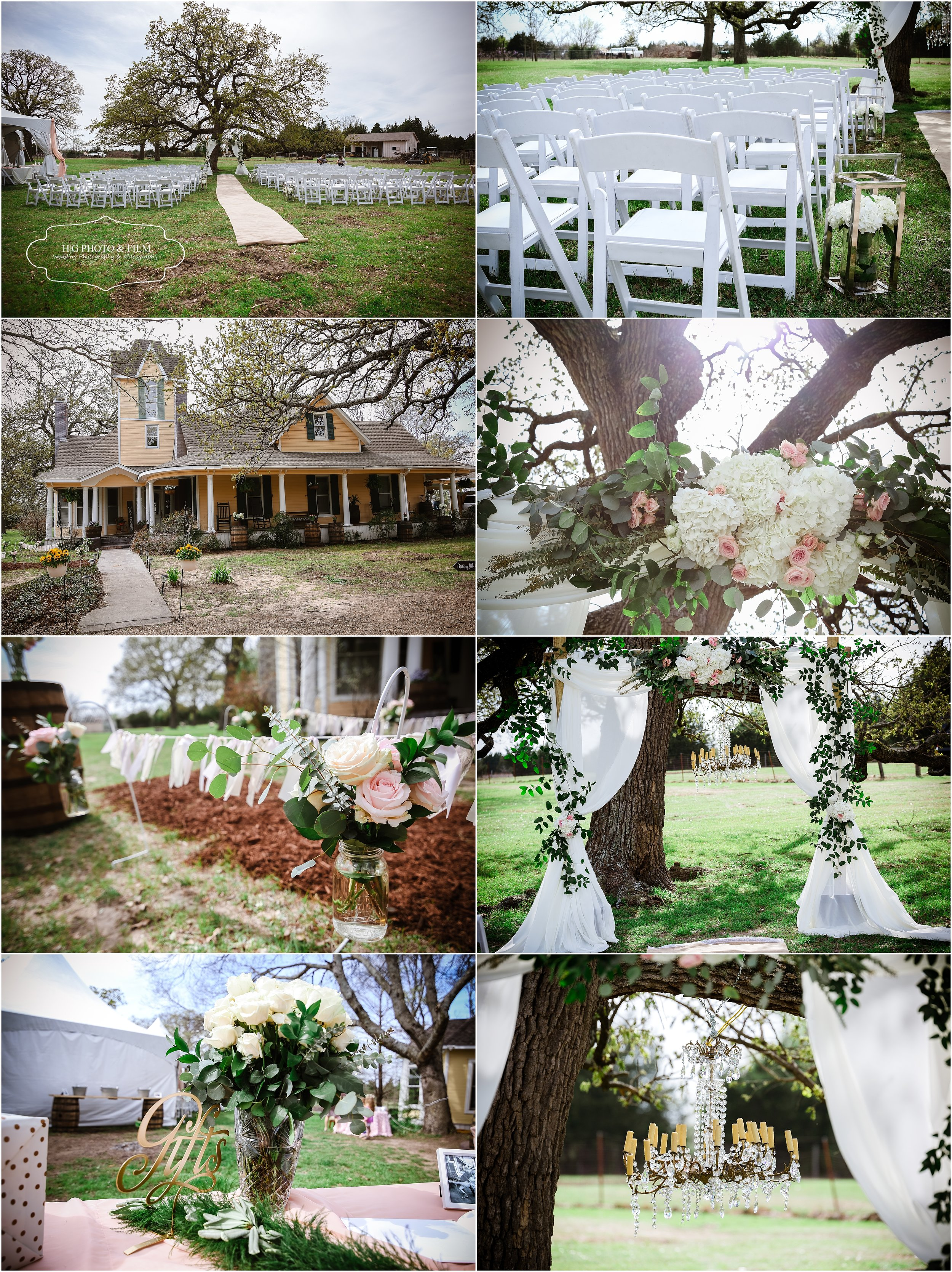 The details of this backyard wedding are everything!