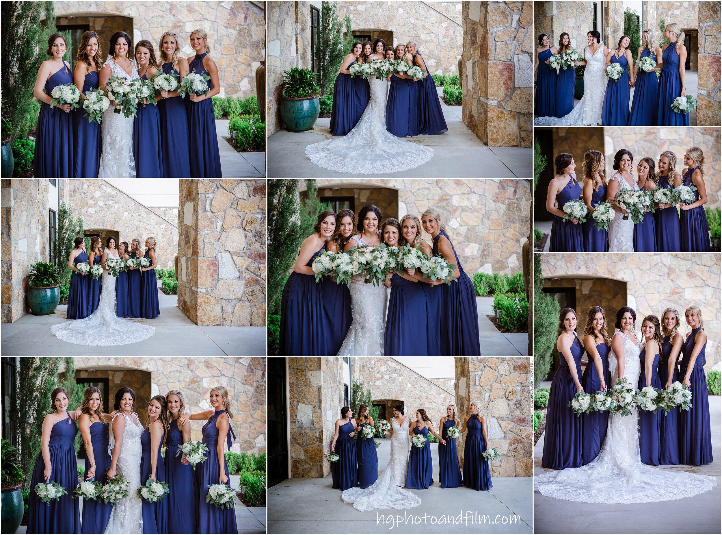 Those bridesmaids!