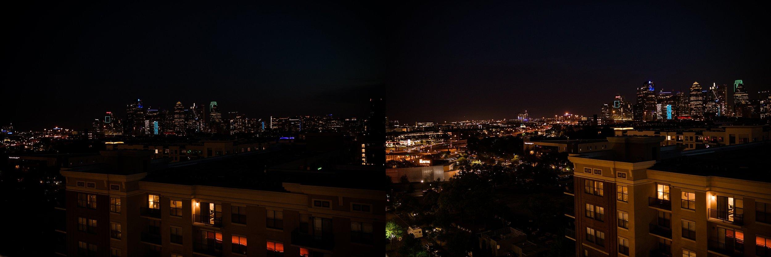That skyline at night!!