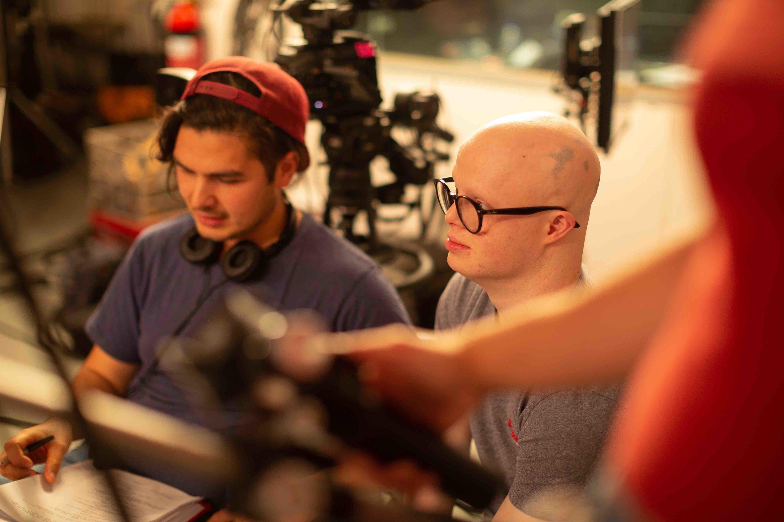 Johanis_and_Lorcan_on_set_The Loop_©2019_Change_Media_photo_Piri_Eddy.jpg