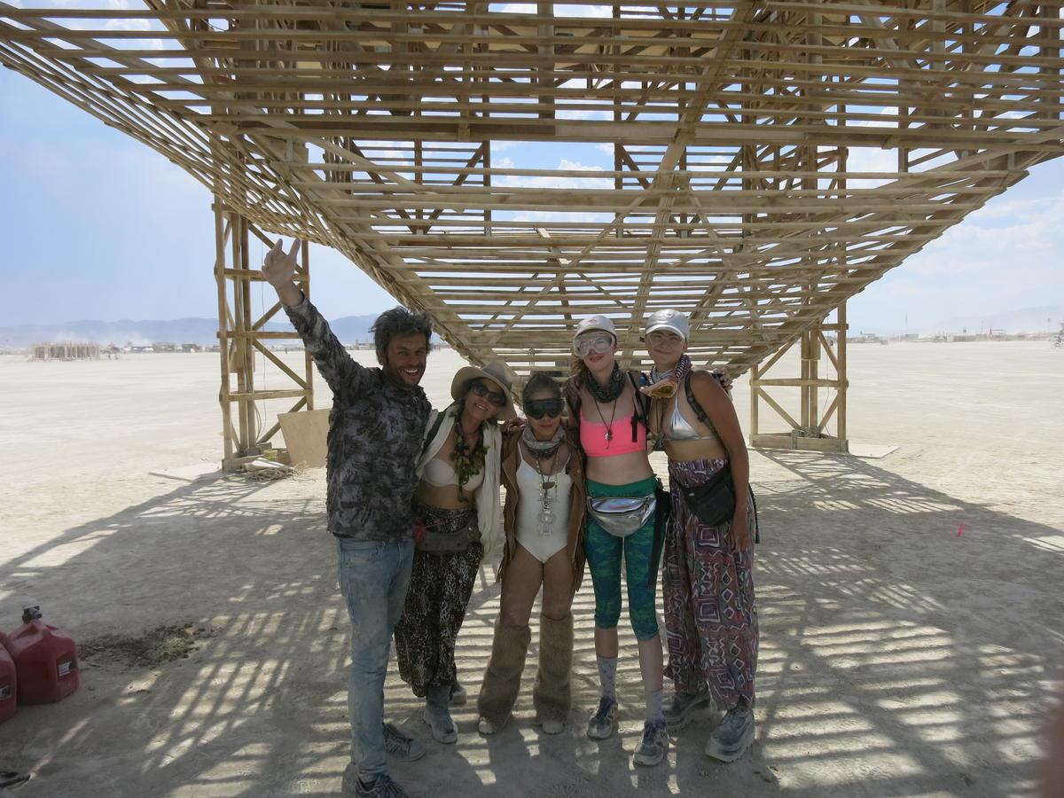 Leo Vilar, Catalina Pulido, Maria del Pilar Sandoval, Christina Ward, Anabel Romero  (left to right)   BY: PAUL BLOGER