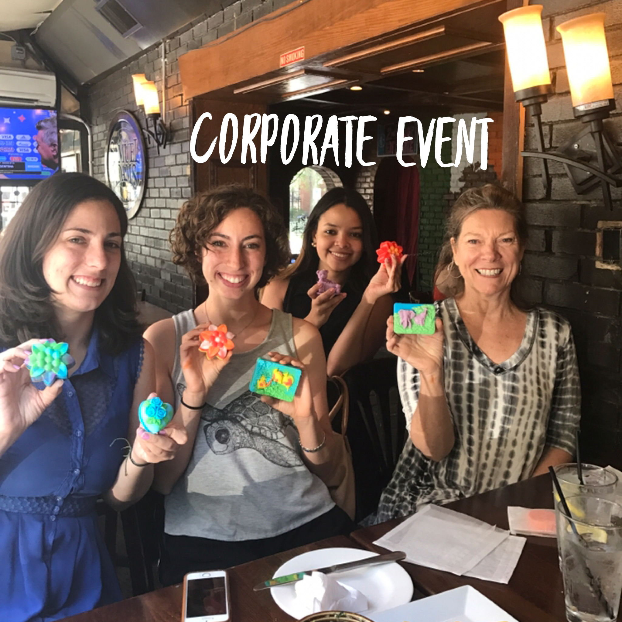Soap Making Corporate Event
