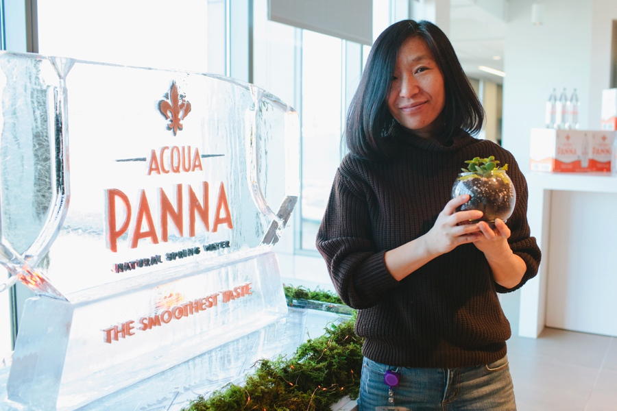 Acqua Panna Experiential Marketing Station at Jet