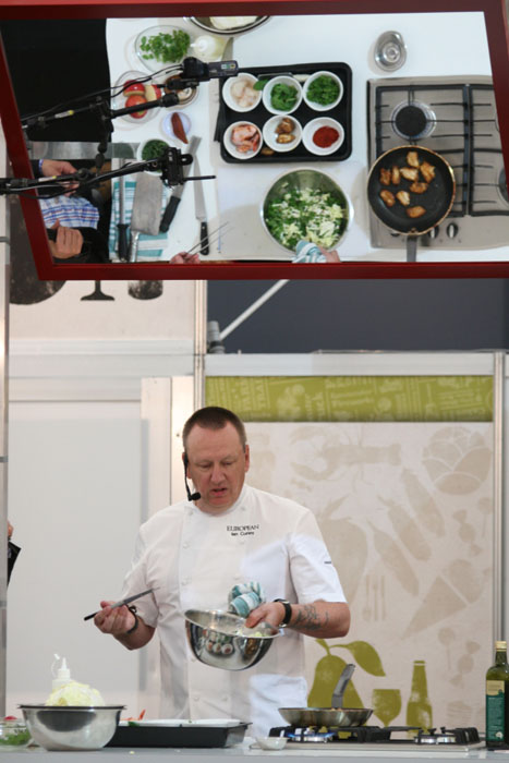 Royal Melbourne Show Fine Food Cooking Demonstrations - Ian Curley
