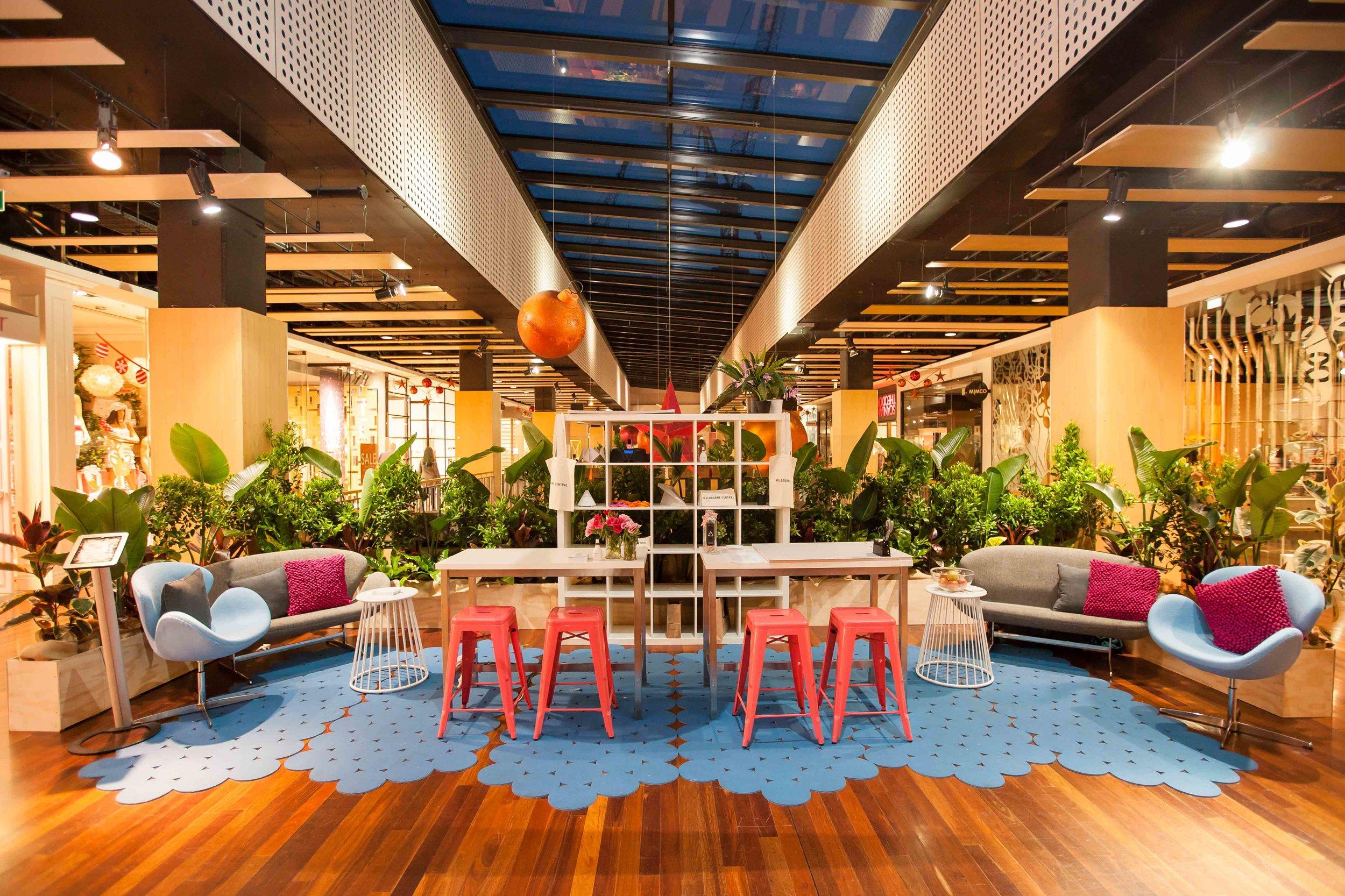 Melbourne Central Destressmas hub