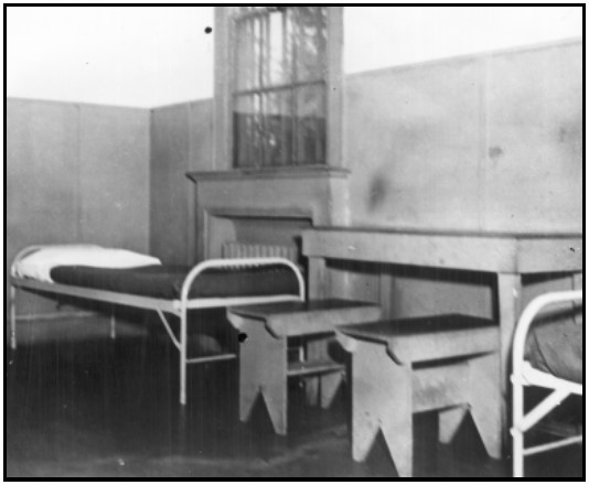 MIS-Y Prisoner Cell - Photo Credit; NPS