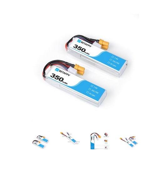BETAFPV 350mAh 2s XT30 Lipo Battery