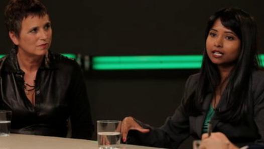Eve Ensler & Jerin Arifa