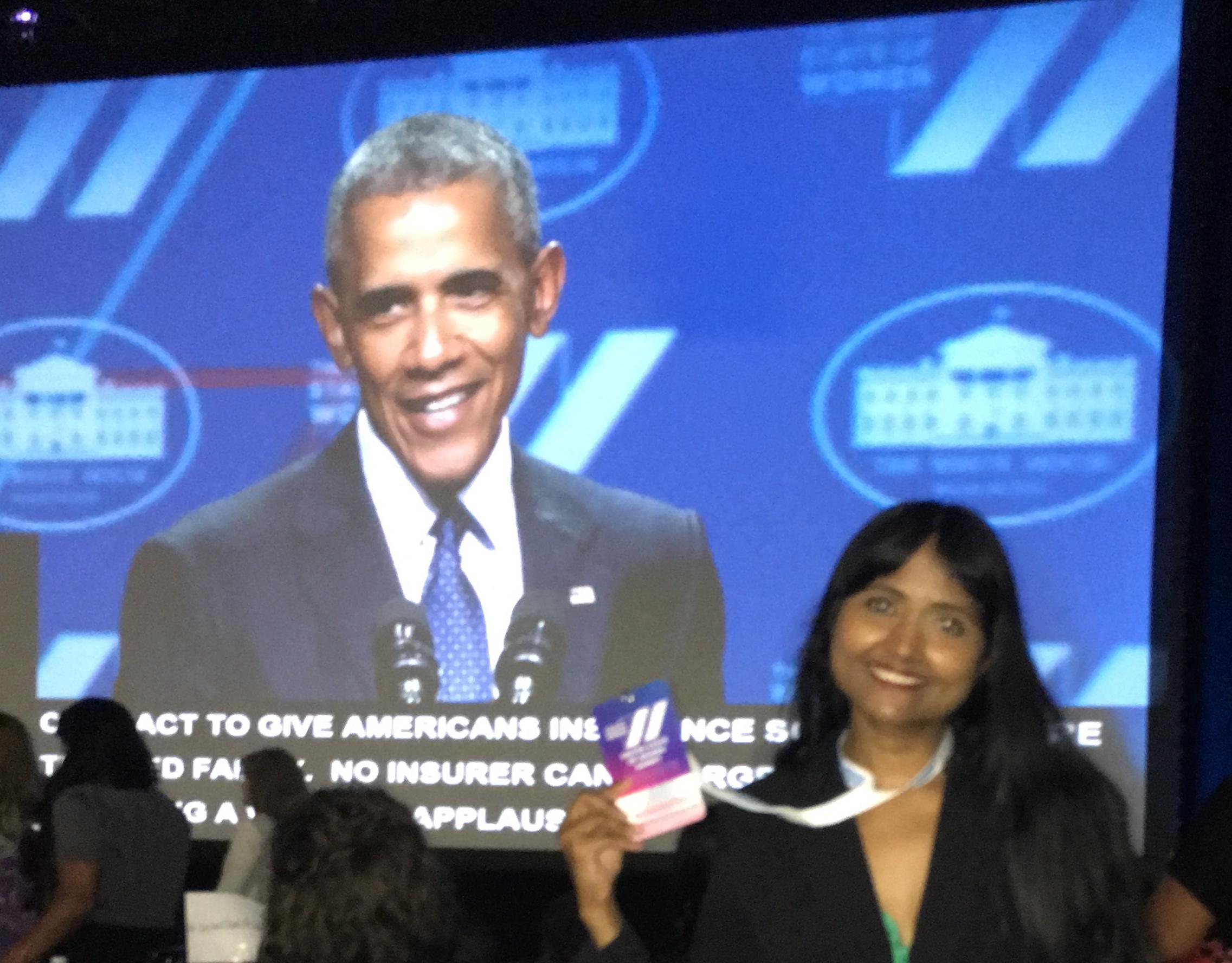 President Obama & Jerin
