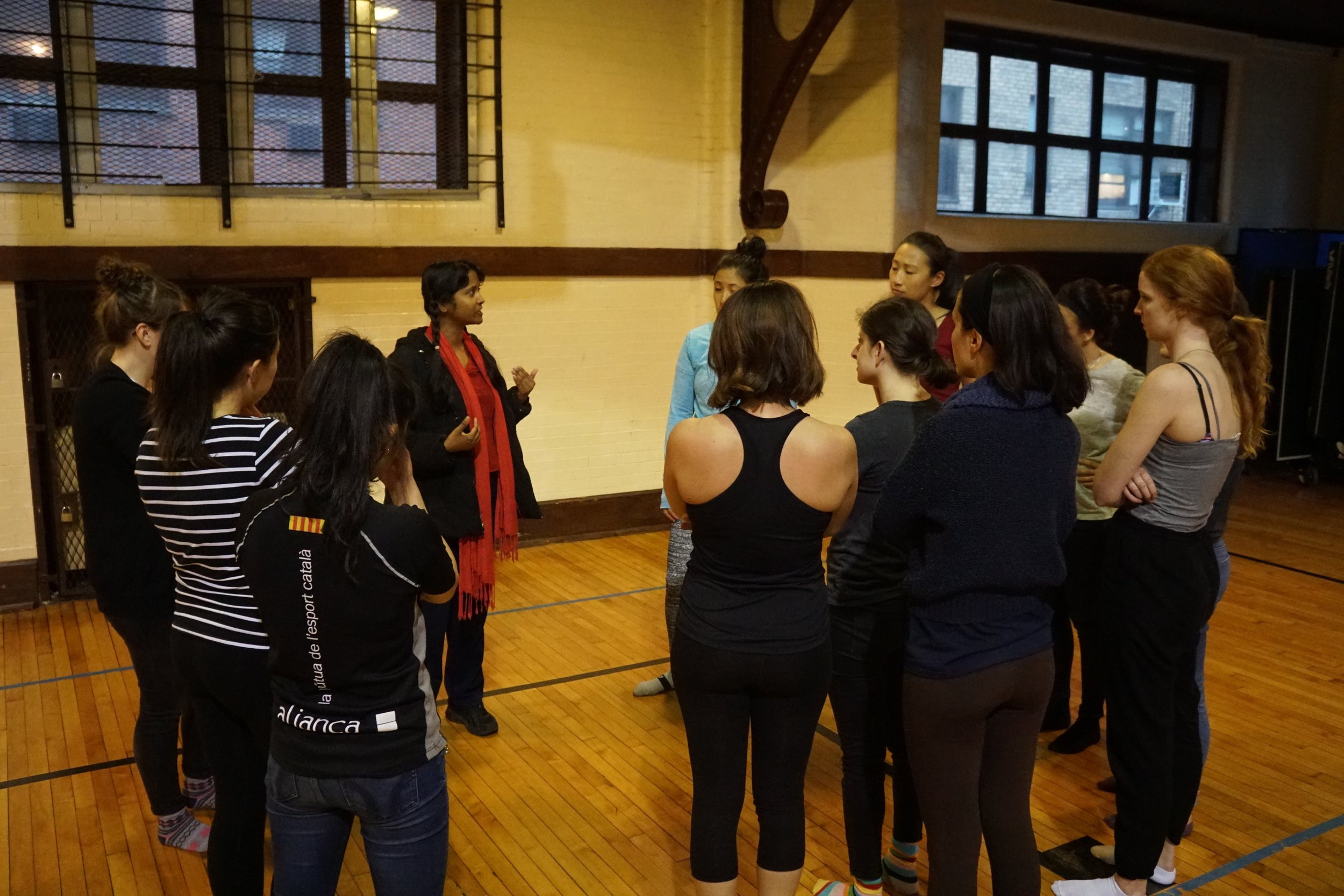 Feminist Self Defense Workshop, 2017