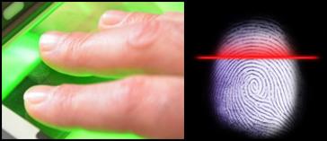 Sapphire for biometric (fingerprint scanning) systems