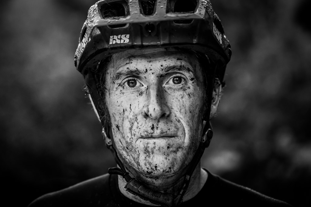 T  he Solution: I knew converting this image to Black and White would help bring out the contrast and highlight the mud and water on his face. By doing this I was able to tell a story and portray a strong image in one photo. The Image: Single exposure edit. Converted to Black and White, bumped up contrast and clarity - all created in Lightroom.