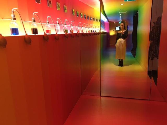 technicolor room