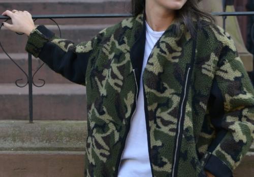 army print jacket