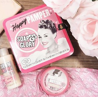 soap&glory Happy Pamper kit