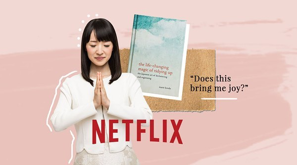 congratulations @mariekondo on your @netflix series! it brings me joy to see the happiness you continue to spread around the world. ✨ #sparkjoy #organizetheworld #genuine #happy #simplify #letgo #thankyou #organize