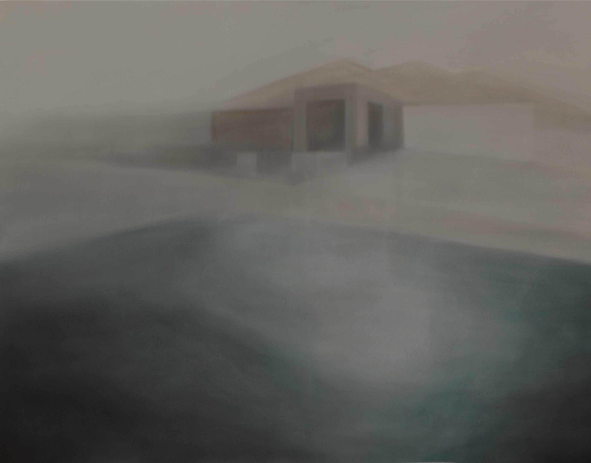 The View, 2012, oil on canvas, 110 x 140cm