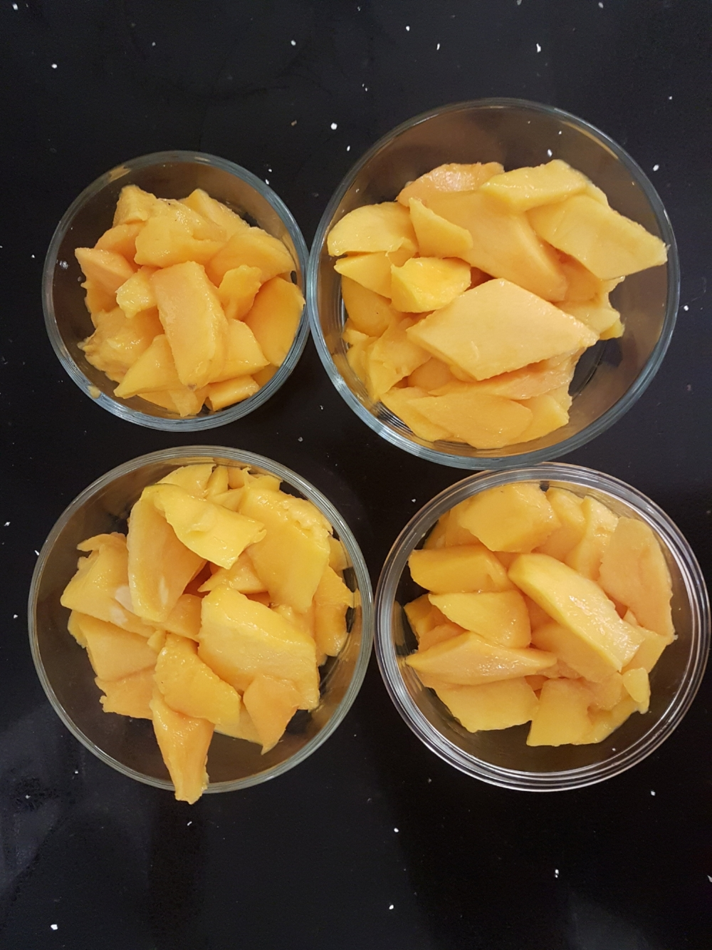 Mango Cheeks Ready To Freeze