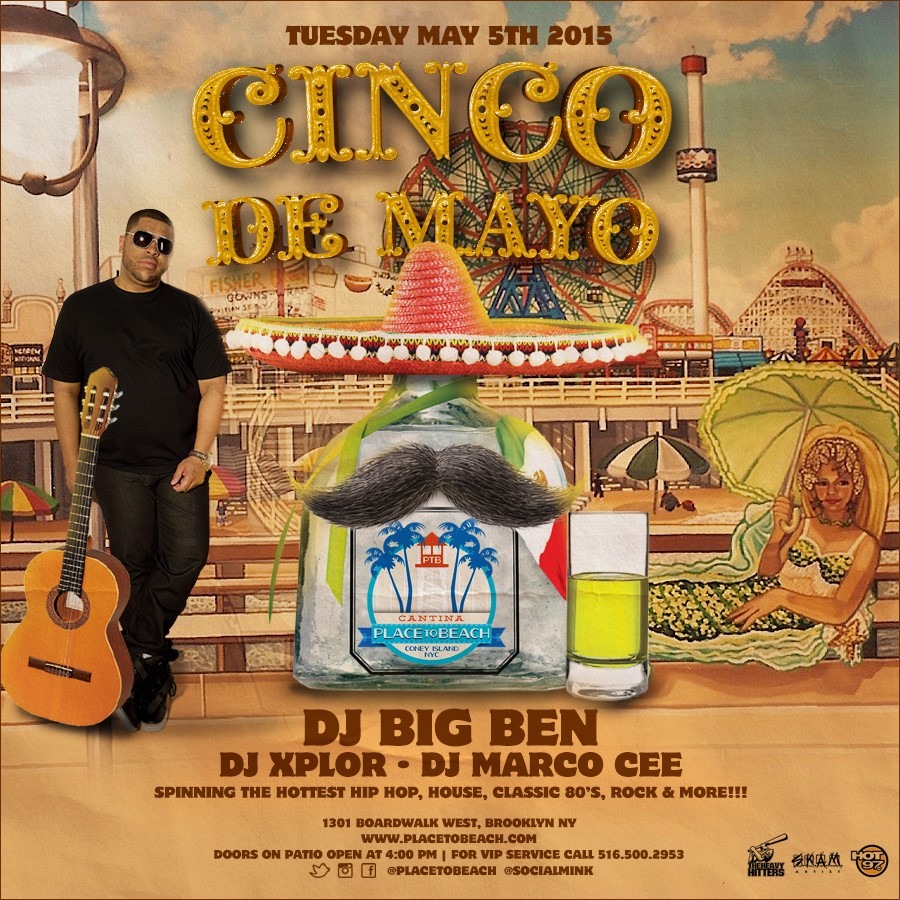 Place To Beach Flyer (Cinco De Mayo 2015).jpg