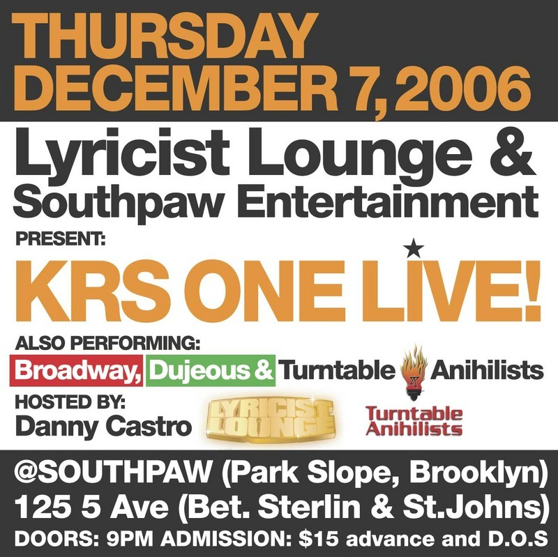 Krs One SouthPaw Flyer.jpg