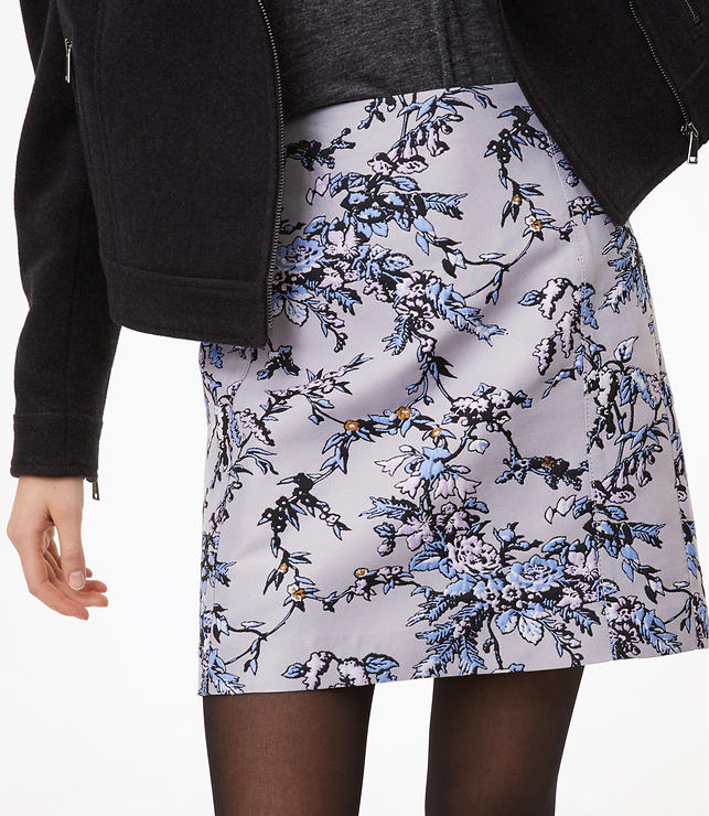 Frosted Branch Shift Skirt