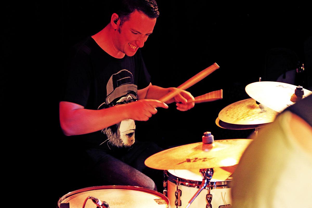 Anthony Stanislavski on drums