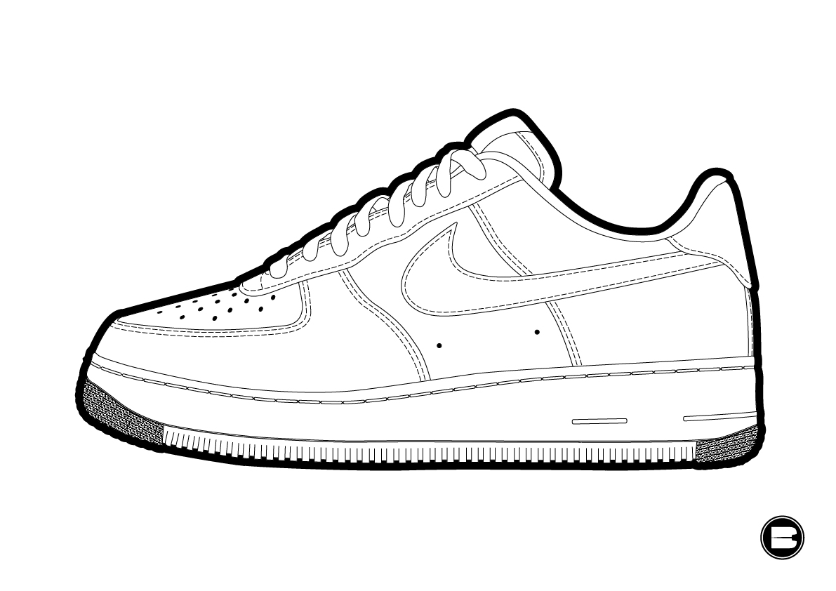 Nike Air Force 1 Low Clot Spider Web In Whitewhite