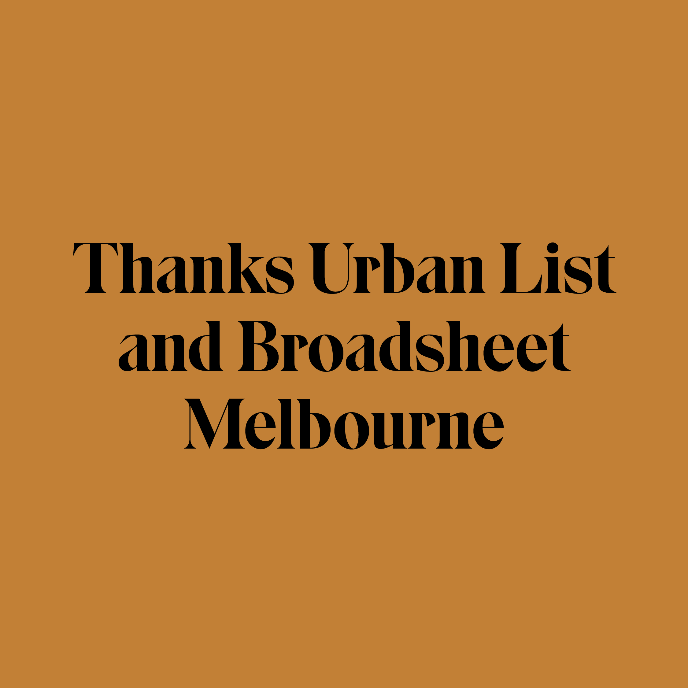 Gift Delivery Melbourne Urban List and Broadsheet