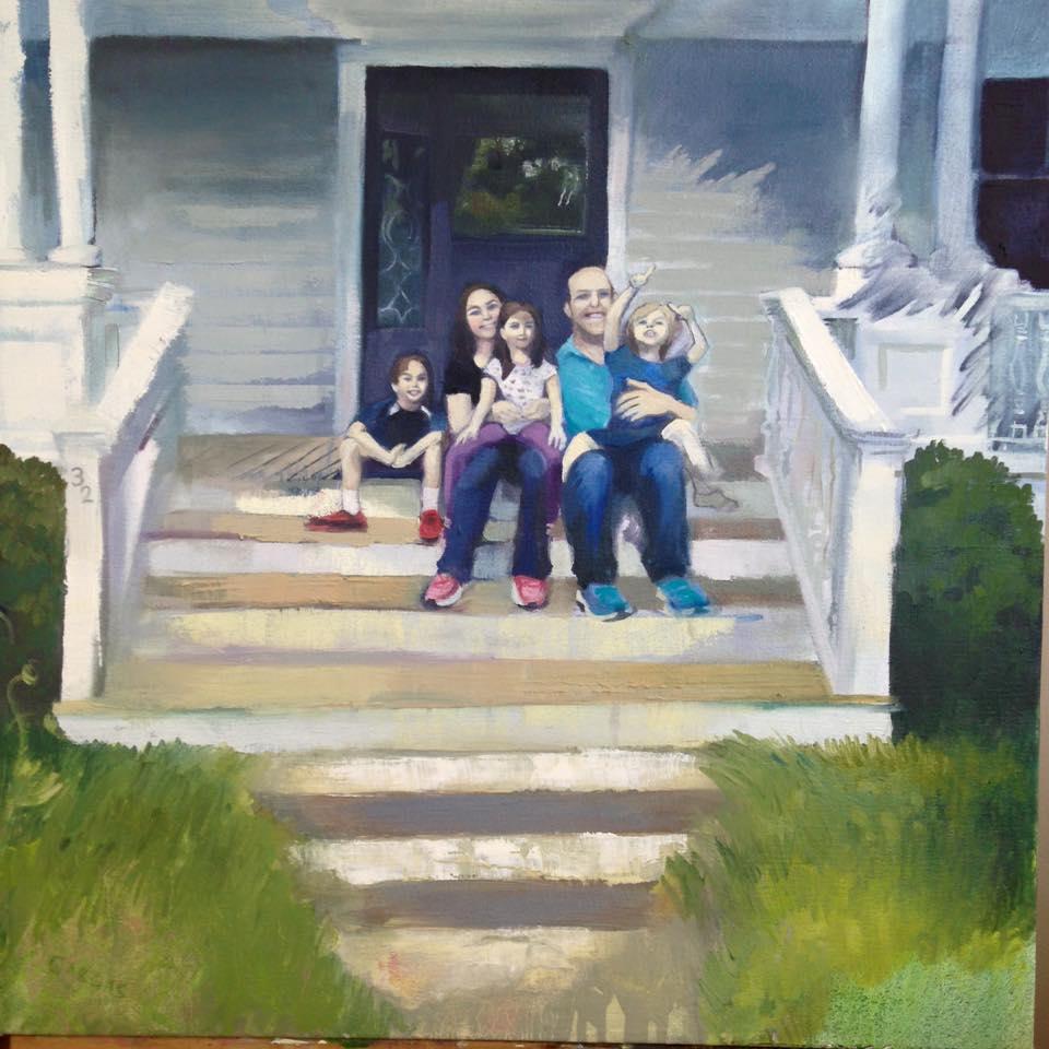 Oil family portrait 2016